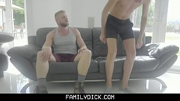 FamilyDick - Rebellious Stepson Gets His Tight Ass Barebacked