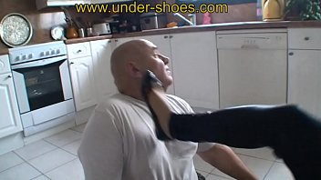 FIRST TIME Busting, trampling and CBT of our new brutal Model Miss Samia