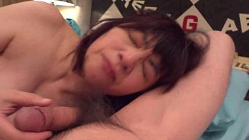Horny Japanese milf  Kui Somya  ass licking and sucking