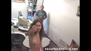 Caught on security cameras porn Compilation of security cam records