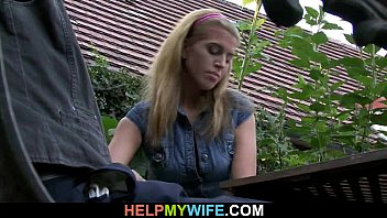 Old hubby watches him fucks his hot wife thumbnail