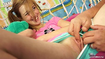 Teen sue Teenyplayground sweet teen alexis crystal takes a load of cum on her tits