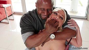 Huge tits Milf orgy interracial fucked