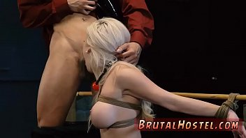 Mistress dominate white and extreme anal toys Big-breasted towheaded