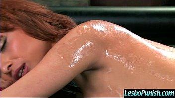 Punish Sex On Cam Between Naughty Lesbians (adessa&ariella) video-05