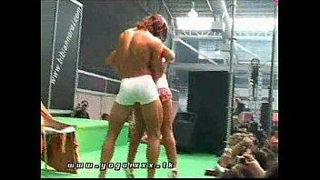 Stripper gay guys Live sex show