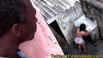 Big tits flagra de vizinha arrombada dando o cu