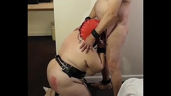 Grannys giving blow jobs - 06-apr-2016 slut slave givings practice blow job to the paddle guy sklavin/esclave/slave