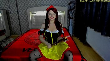 Maleficent Snow-white fucking rough your ass and cbt