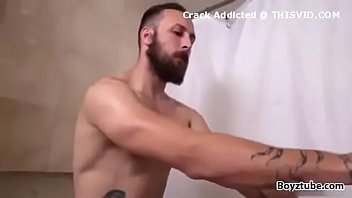 dad and boy fucking in bathroom