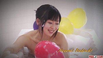 Nozomi Hatsuki Masturbates Until She Squirts thumbnail