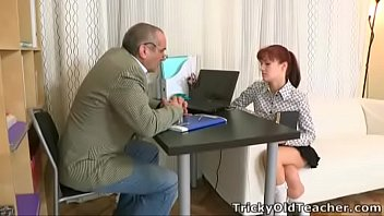 Tricky Old Teacher - Stefany finds out that one way