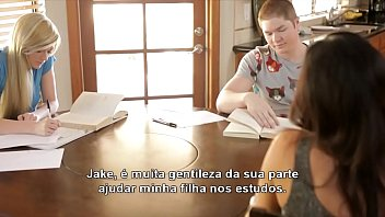As Aventuras do Jake Estudando na casa da amiga