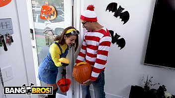 Halloween crafts for teens to make Bangbros - teen evelin stone gets bruno dickemzs dick in a pumpkin