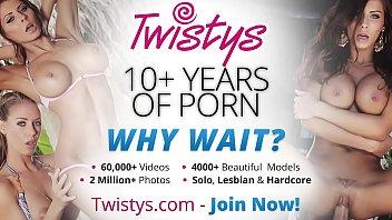 Twistys - (Barbie White) starring at My Little Friend