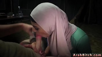 Young teen crying Sneaking in the Base! teenage hijab militarty
