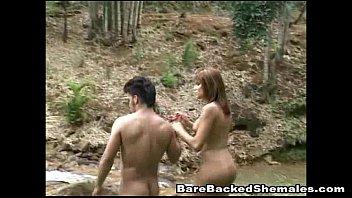 Brunette Shemale Gets Bareback Sex tumblr xxx video