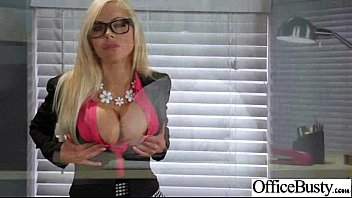 Superb Woker Girl (nina elle) With Big Tits Get Hard Sex In Office clip-24