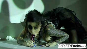 Hot Christy Mack the Pirate plays with her amazing ass and tight wet pussy