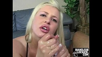 Blonde Big Tit Handjob