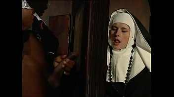 Dirty Nun Eager For A Big Black Cock