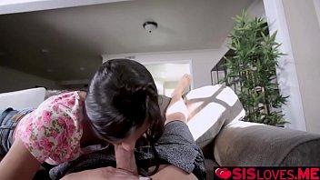 Katya Rodriguez goes on top of step bros huge man meat!