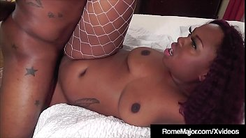 Black Knight Rome Major Fucks Chocolate Babe Cherise Rozy!