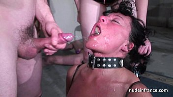 Mature couple gangbang tubes Amateur french couples in sex slaves action hard analyzed in bdsm