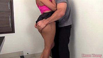 Larissa Emanuelli Sexy shemale Larissa Emanuelli fucked bareback