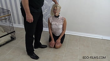 Beautiful Girl sold as a Sex Slave - Training Part 2/16