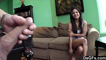 Intense pounding brings her to squirt all over thumbnail