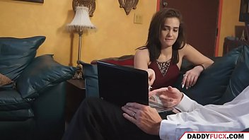 daughter gives viagra to her dad
