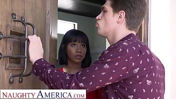 Naughty America Jenna Foxx strips and fucks for bro's bully