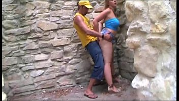 Clay aiken gay Sexy tourist outdoor banged between ancient ruins