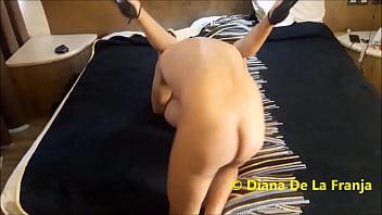 1 Cougar disfrutando de amante en Boulevard de Puebla Diana Hotwife