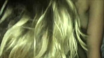 Cute Blonde Doll Giving Head