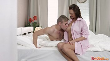 18videoz - Moring coffee and ass riding Emily Thorne