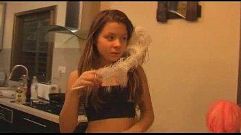 Cork 2 x 12 tack strip Amateur teen girl