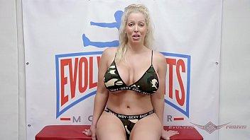 Big Boob Alura TNT Jenson nude wrestling fight and cock suck