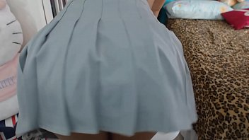 Novinha Nerd na webcam Gozando gostoso na calcinha Squirt orgasm and squirt molhando a calcinha