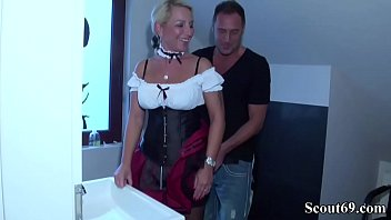 German Step Son Seduce Big Tit Mother in Lingerie to Fuck 8 min