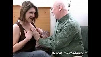 Older Lisa Sucks And Fucks Grandpas Cock