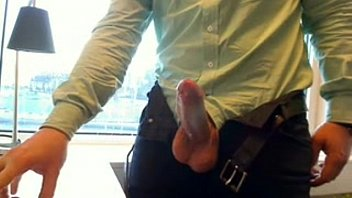 Gay men in wenatchee Office jerk-off