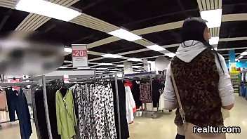 Exceptional czech girl gets teased in the supermarket and drilled in pov