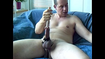 Gay electro punishment A good urethral sounding