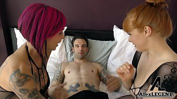 Hottest Threesome with Busty Beauties Anna Bell Peaks &amp_ Penny Pax!
