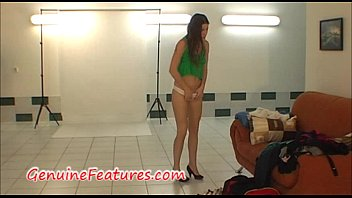 Real czech amateur chick behind the scene thumbnail