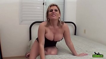 Luana Pioner with Ted in POV with very Anal Southern blonde sits on piroca