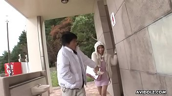 Hot Japanese brunette, Sae Sakamoto is a frisky, blowjob queen
