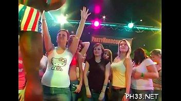Tons of blonde ladies engulfing weenies thumbnail